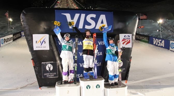 Justine Dufour-Lapointe Wins Deer Valley Dual Moguls