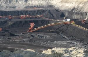 A coal mine on federal land in the Powder River Basin, near Gillette, Wyo. (file photo: Greg Goebel)