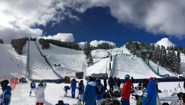 Deer Valley's Champion mogul course and White Owl aerial hill have been the site of two World Championships and the 2002 Olympic Winter Games. (file photo: FIS)