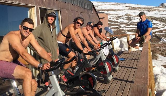 The American Downhillers train for the 2016-17 season in Chile. (photo: U.S. Ski Team)