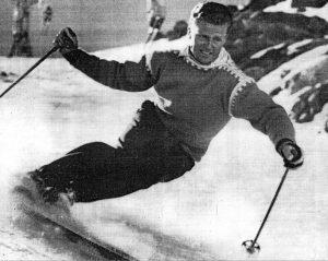 Stein Eriksen (photo: Alf Engen Ski Museum)