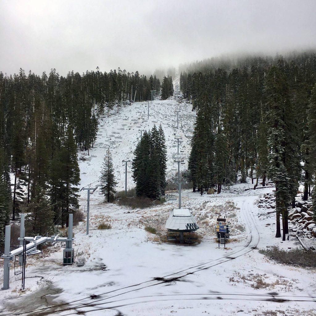 (photo: Sierra-at-Tahoe, Calif. 10/17/2016)