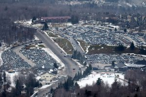 The parking lots were full for the Audi FIS Ski World Cup Giant Slalom at Killington in central Vermont on Saturday, November 26, 2016. (FTO photo: Martin Griff)