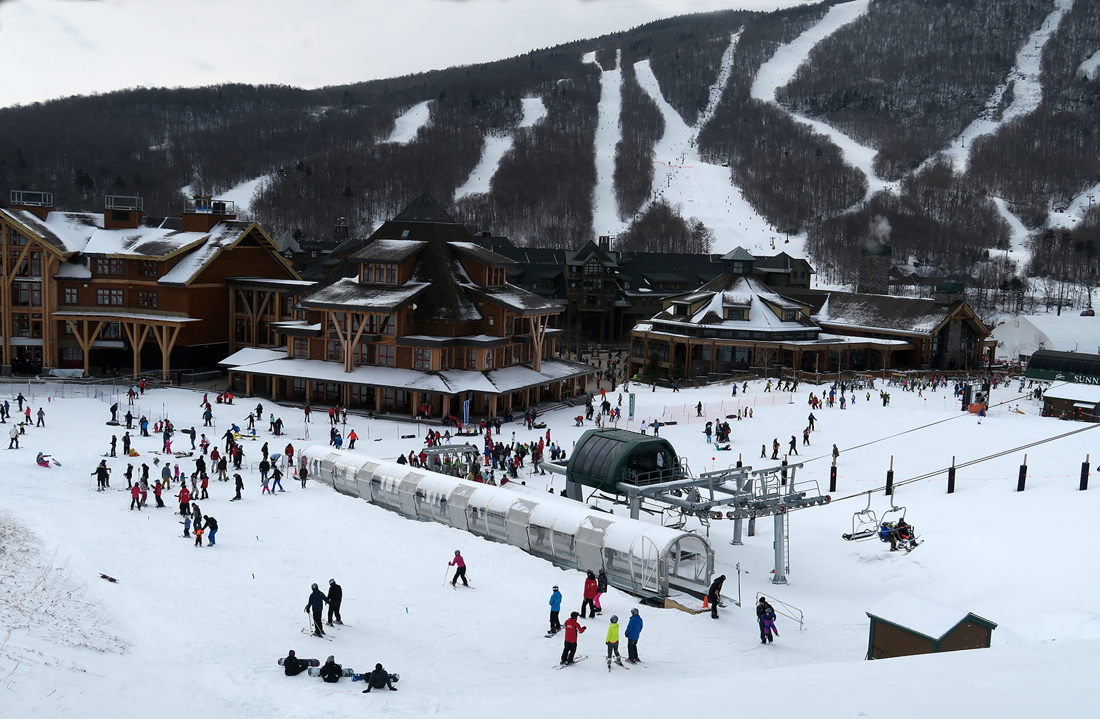 spruce development puts stowe in world class category   first tracks
