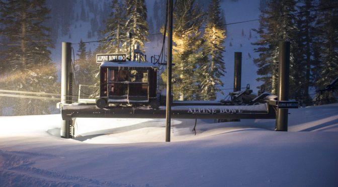 15 Feet of January Snowfall Breaks 45-Year Record