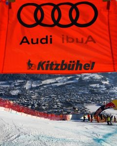 Welcome to Kitzbuehel. (photo: Instagram/US Ski Team)