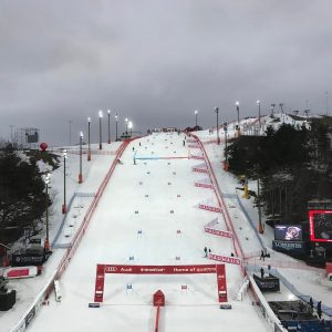The battlefield for Tuesday night's Stockholm City Event. (photo: FIS)