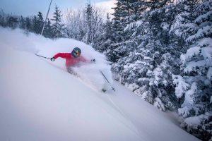 Wildcat skiers enjoyed deep holiday snowfall on Dec. 30, 2016. (photo: Wildcat Mountain)