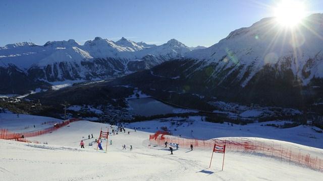 World Ski Championships Open in St. Moritz
