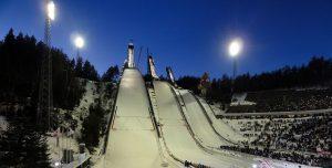 The ski jumps in Lahti, Finland. (file photo: Ari Helminen)