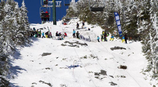 Junior Castlerock Extreme Hits Sugarbush's Steeps This Weekend