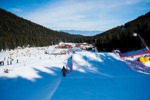 Saturday's World Cup snowboardcross course in Bansko, Bulgaria. (photo: Miha Matavz/FIS)