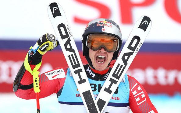 Canada's Erik Guay Now the Oldest World Champion