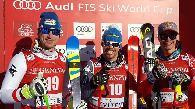 Italy's Peter Fill Wins Kvitfjell Super G