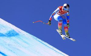 Lindsey Vonn finished second the Audi FIS Ski World Cup downhill at the Jeongseon Alpine Centre on Saturday in South Korea. (photo: Getty Images-Sean M. Haffey via USSA)